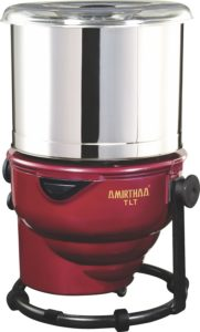 AMIRTHAA TLT Tilting Tabletop Wet Grinder - 2 Liter (Wine Red)​ sample