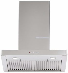 Bosch 60cm 800 m3:hr Chimney (DWB068D50I, 2 Baffle Filters, Steel:Grey)​ sample