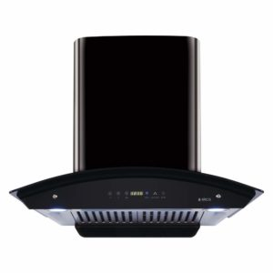 Elica 60 cm 1200 m3:hr Auto Clean Chimney with Free Installation Kit (WD HAC TOUCH BF 60 BK, 2 Baffle Filters, Touch Control, Black (GLOSSY FINISH)) sample