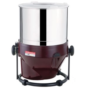 Premier 230 V Stainless Steel Table Top Wet Grinder, 2 L (Red)​ sample