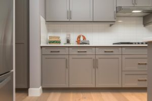 with cabinets sample
