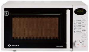 Bajaj 20 L Grill Microwave Oven (2005 ETB, White) sample