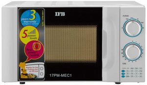 IFB 17 L Solo Microwave Oven (17 PM MEC 1, White)​ sample