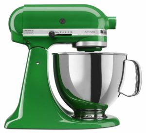 KitchenAid KSM150PSCG Artisan Series 5-Qt. Stand Mixer with Pouring Shield - Canopy Green sample