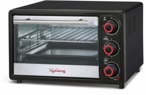 LIFELONG 16L 1200-WATT OVEN TOASTER GRILLER​ sample