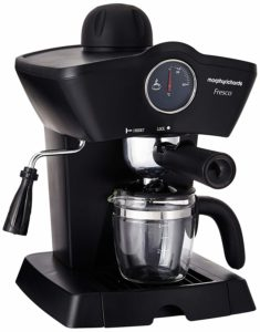 Morphy Richards Fresco 800-Watt 4-Cups Espresso Coffee Maker (Black)  sample