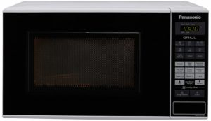 Panasonic 20 L Grill Microwave Oven (NN-GT221WF, White) sample