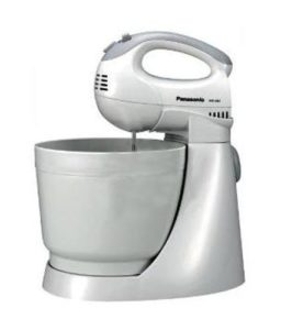 Panasonic MK-GB1 3-Litre 200-Watt Stand Mixer (White) ​sample