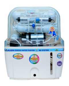 R.K. Aqua Fresh India 15-Liters RO+UV+UF+TDS Adjuster Water Purifier (White)​ sample