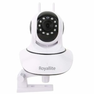 Royallite Wireless HD IP Wifi CCTV Indoor Security Camera (Support up to 128 GB SD card) (White Color)​ sample