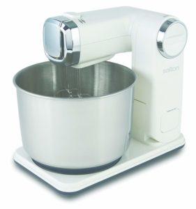 Salton KM1390 Foldable Stand Mixer, White sample
