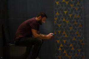 bathroom phone sample