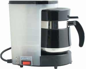 brahmas Coffee Maker with free 2 Stainless Stell Tumbler sample
