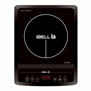 iBELL Glass Induction Cooktop Cloud 850Y with Auto Shut Off and over Heat Protection (Black, 2000 W) ​sample