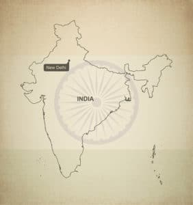 india map sample