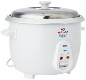 Bajaj RCX 5 1.8-Litre Rice Cooker sample