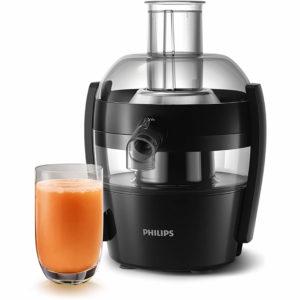 Philips Viva Collection HR1832-00 1.5-Litre 500-Watt Juicer (Ink Black) sample