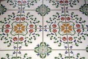 vinyl tiles sample