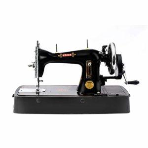 Usha cast iron straight stitch machine with cover
