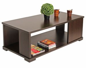 Bluewud Noel CT-NO-RTW Coffee Table with Shelves sample