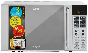 IFB 20 L Convection Microwave Oven (20SC2, Metallic Silver) SAMPLE