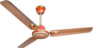 Crompton Decora Premium 48-inch 70-Watt High-Speed Ceiling Fan (Ginger Gold)