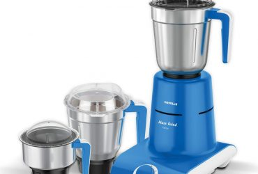Havells Maxx Grind 750-Watt Mixer Grinder with 3 Jars (Blue) sample