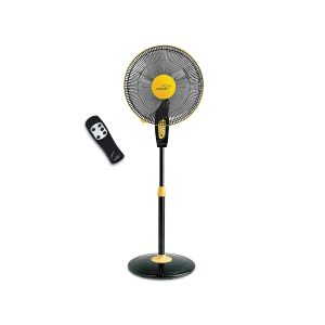 V-Guard Finesta Remote 400mm Pedestal Fan (Yellow Black) sample