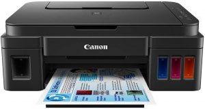 Canon Pixma wireless color printer sample