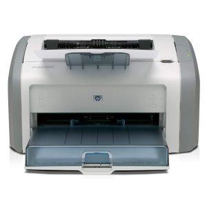 HP 1020 plus laser printer sample
