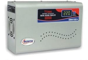 Microtek EM4160+ Automatic Voltage Stabilizer for 1.5 Ton AC SAMPLE