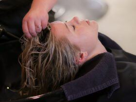 Hair Shampoo Women Model
